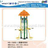 Сидеть и потяните машинного обучения для трех станции фитнес оборудования (HD-13302)