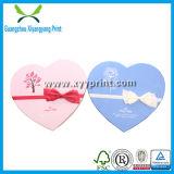 Boîte à cadeau en forme de coeur en papier Kraft blanc personnalisé