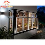 Estilo europeo con doble vidrio de ventana de aluminio/aluminio ventana
