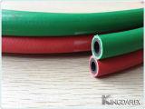 Linha gêmea mangueira da borracha da soldadura de acetileno do oxigênio