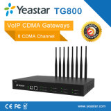 Gateway di VoIP CDMA della scheda delle porte SIM di UMTS di Yeastar 8 (NeoGate TG800)