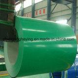 Matériau de construction de couleur Steel/PPGI galvanisé enduit d'une première couche de peinture en acier