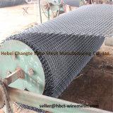 Высокуглеродистой сплетенная нержавеющей сталью сетка волнистой проволки вибрации