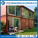 Casa prefabricada de encargo del envase de la estructura de acero