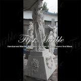 Hand-Geschnitzte Metrix Carrara Skulptur für Hauptdekoration Ms-1019