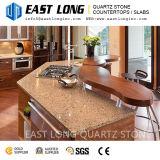 Granit dalles de pierre de quartz de couleur pour le Bar plateaux