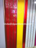 Slot de placa MDF melamina/ ranhuras da placa de MDF com alta qualidade