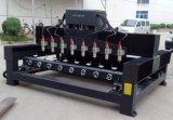4D giratorios CNC madera molde haciendo máquina Router