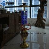 Narguilé de style club Shisha avec effet 3D de lumière à LED 4 narguilé de flexible