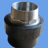 Accoppiamento del filetto maschio di fusione di estremità dell'HDPE delle installazioni dello zoccolo del PE
