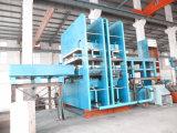 Pressione vulcanização descendente/Placa Imprensa vulcanização/Prensa Hidráulica a máquina