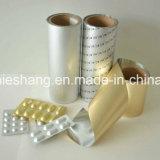 Paquete médico de la cápsula Impreso Pharmaceutical Aluminum Foil