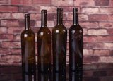 750ml赤ワインのガラスビン