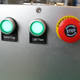 marcadora láser de fibra de enrollar/tubo de tamaño pequeño Marcador láser