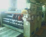 Máquina de entalhe de impressão de papelão de tinta de água multicolorida