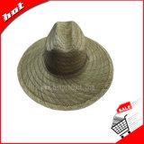 Chapéu de palha de precipitação Chapéu de palha oco Chapéu de sol Chapéu de borda grande