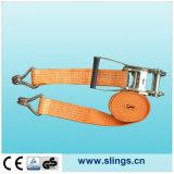 Courroie à cliquet avec double crochet J et poignée en aluminium Ratchet
