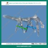 Parafuso do meio tipo Espéculo Vaginal/Dilatador vaginal com marcação CE&ISO