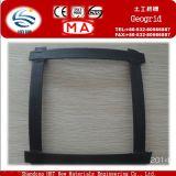 De fibra de vidrio de plástico geomalla Rail Proyecto de Construcción de Carreteras