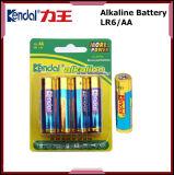 Bateria super da bateria alcalina Lr6 AA da potência 1.5V