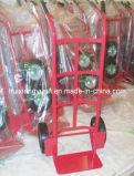 Caminhão do trole da mão das escadas Ht0101/mão da escada