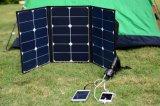70W Sunpower Panneau solaire pliable de plein air de pliage pour le camping