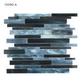 새로운 진한 파란색 색깔 목욕탕 벽 유리제 모자이크 타일