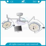 Het Medische LEIDENE van de Batterij van het plafond Shadowless In werking gestelde Licht van de Chirurgie (ag-LT019)