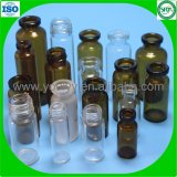 Botella de cristal de la medicina