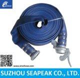 Tubo flessibile dell'acqua del PVC Layflat di irrigazione di industria della pompa di agricoltura