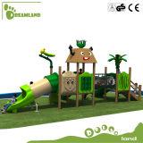 Campo de jogos ao ar livre de madeira profissional padrão da UE para o divertimento