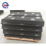 Mattonelle di tetto rivestite dell'assicella del metallo della pietra dei materiali di Buidling con resistenza del vento