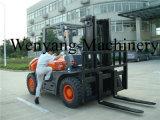 Wenyangの機械装置のフォークリフト5tonの油圧ディーゼルフォークリフト