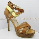 2013 nouvelle Madame Heel Sandal (YMS002196-01) de la mode