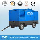 O compressor de ar Diesel do parafuso portátil funcionou no platô frio 18.5m3/Min 18bar