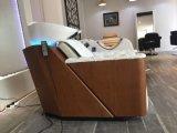 Equipamento de cabeleireiro Shampoo Shampoo de lavagem de enxágüe de cama cadeira com dissipador tigela de cerâmica