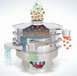 Pantalla vibrante rotatoria de la coctelera del separador del tamiz del alto rendimiento
