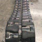 Trilha de borracha da máquina escavadora (450X81X74N) para a máquina de Zx70.4 Hitachi