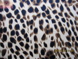 Impressão Leopard (HZS veludo--00122)