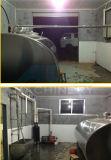 Horizontal tanque de leche en máquinas de procesamiento de lácteos (ACE-ZNLG-3E)