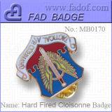 Os emblemas Cloisonne queima do disco (MB0170)
