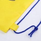 Мягкий материал ягнится Backpack Drawstring спорта