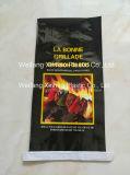 Sacchetto del carbone di legna tessuto BOPP con il prezzo poco costoso