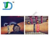 Relativo à promoção projetar o Wristband do silicone de Debossed da alta qualidade