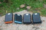 8000mAh 4 pedazos de los paneles solares de la batería móvil solar de la potencia