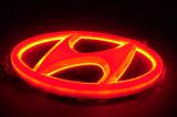 lumière d'insigne de logo de 4D DEL pour Hyundai