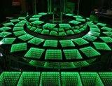 Diodo emissor de luz claro de Dance Floor do disco fácil da operação para a mostra de carro