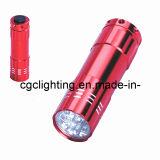 건식 배터리 알루미늄 LED 플래시라이트(CC-019)