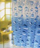 A água de 100% de poliéster a cortina do chuveiro (JS4040)
