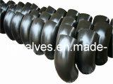 Acero al carbono y racor de tubería de acero inoxidable